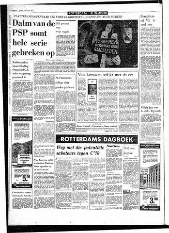 Rotterdamsch Parool / De Schiedammer 1970-02-06