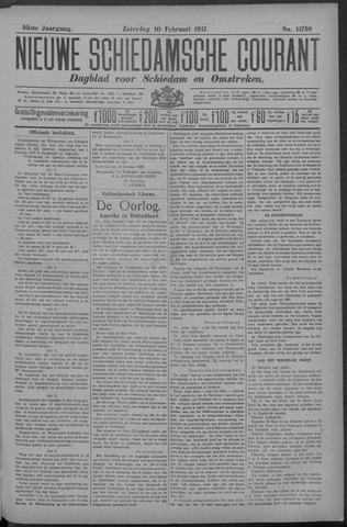 Nieuwe Schiedamsche Courant 1917-02-10