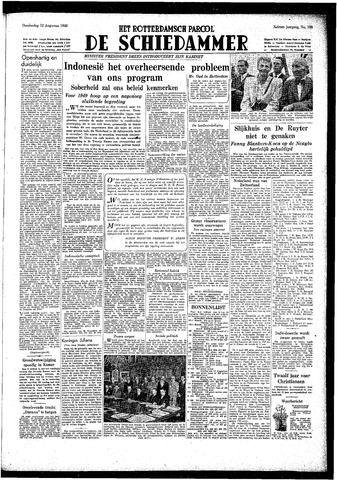 Rotterdamsch Parool / De Schiedammer 1948-08-12