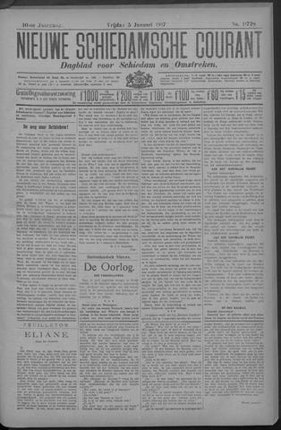 Nieuwe Schiedamsche Courant 1917-01-05