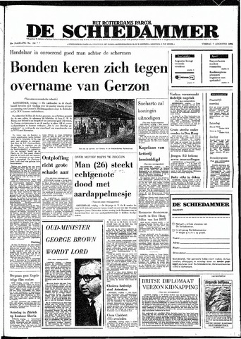 Rotterdamsch Parool / De Schiedammer 1970-08-07