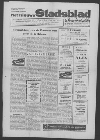 Het Nieuwe Stadsblad 1961-02-01
