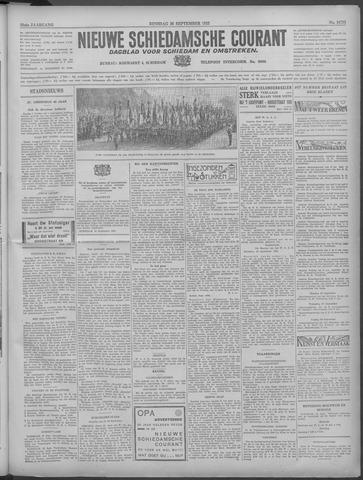 Nieuwe Schiedamsche Courant 1933-09-26