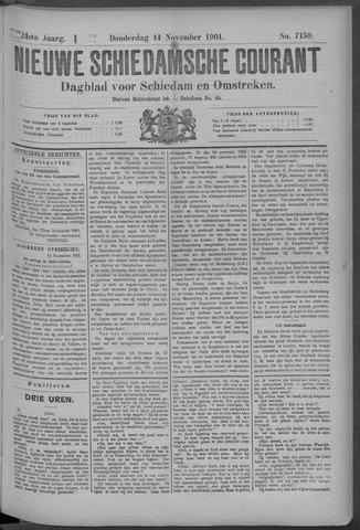 Nieuwe Schiedamsche Courant 1901-11-14