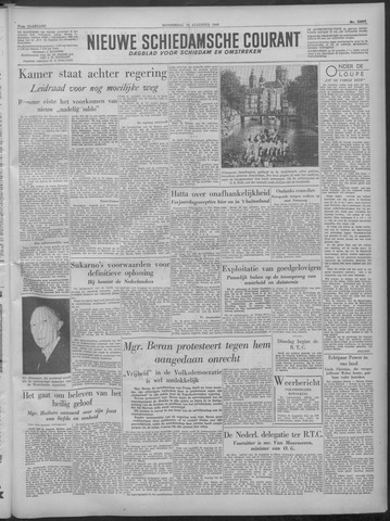 Nieuwe Schiedamsche Courant 1949-08-18