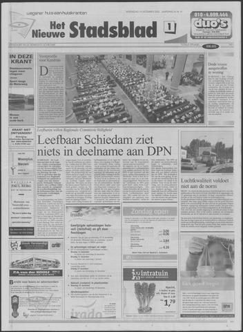 Het Nieuwe Stadsblad 2002-12-18