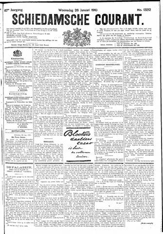 Schiedamsche Courant 1910-01-26