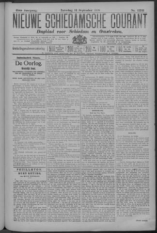 Nieuwe Schiedamsche Courant 1918-09-14