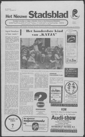 Het Nieuwe Stadsblad 1971-09-17