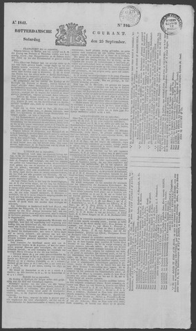 Rotterdamse Courant 1841-09-25