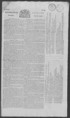 Rotterdamse Courant 1841-04-24