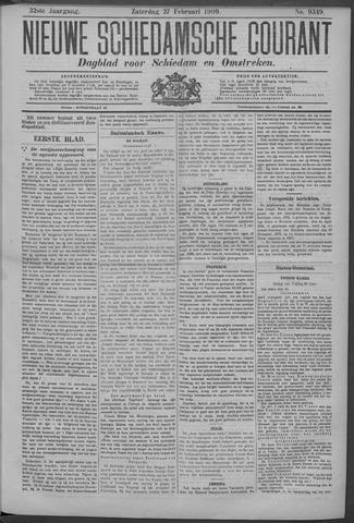 Nieuwe Schiedamsche Courant 1909-02-27
