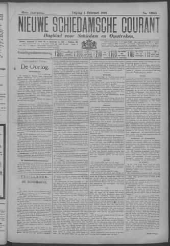 Nieuwe Schiedamsche Courant 1918-02-01