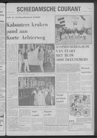 Rotterdamsch Nieuwsblad / Schiedamsche Courant / Rotterdams Dagblad / Waterweg / Algemeen Dagblad 1970-06-17