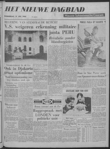 Nieuwe Schiedamsche Courant 1962-07-19
