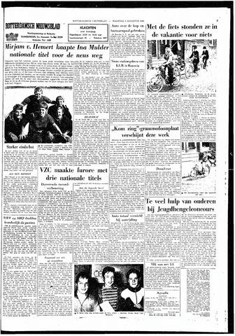 Rotterdamsch Nieuwsblad / Schiedamsche Courant / Rotterdams Dagblad / Waterweg / Algemeen Dagblad 1965-08-09