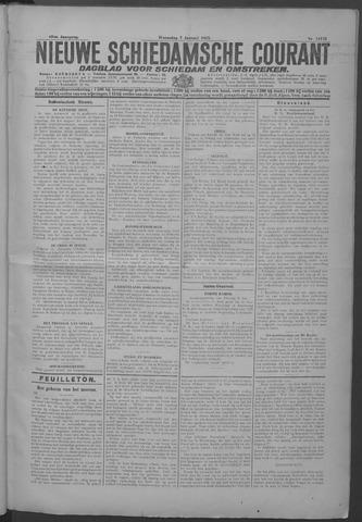 Nieuwe Schiedamsche Courant 1925-01-07