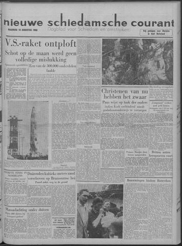 Nieuwe Schiedamsche Courant 1958-08-18