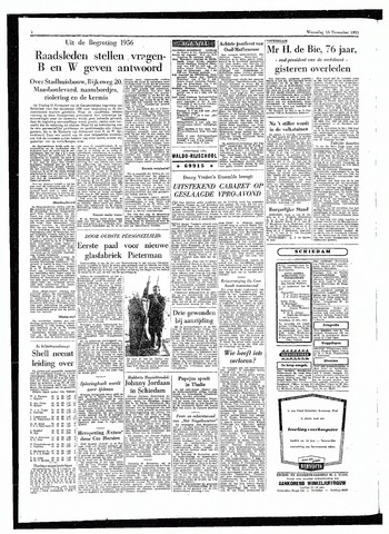 Rotterdamsch Parool / De Schiedammer 1955-11-16