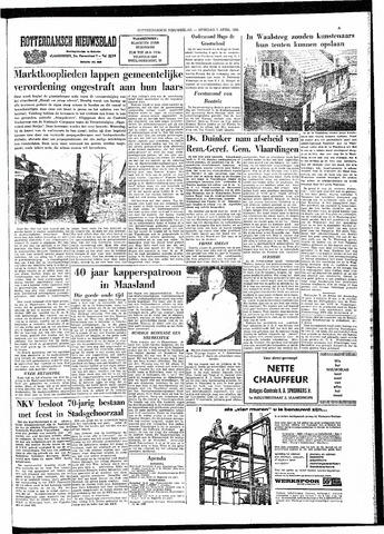 Rotterdamsch Nieuwsblad / Schiedamsche Courant / Rotterdams Dagblad / Waterweg / Algemeen Dagblad 1964-04-07