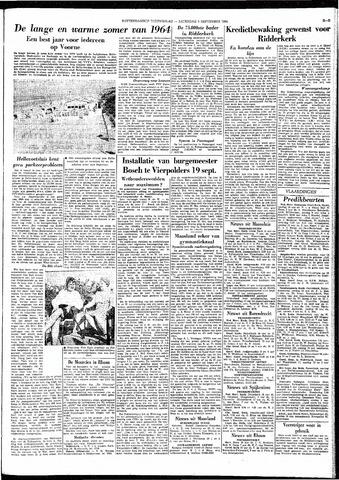 Rotterdamsch Nieuwsblad / Schiedamsche Courant / Rotterdams Dagblad / Waterweg / Algemeen Dagblad 1964-09-05