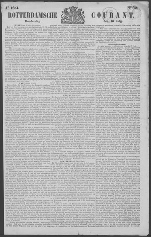 Rotterdamse Courant 1851-07-10