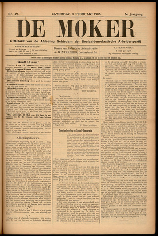 De Moker 1906-02-03