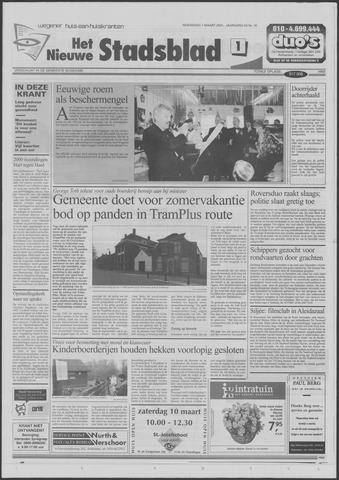 Het Nieuwe Stadsblad 2001-03-07