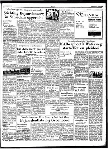 Trouw / De Rotterdammer 1962-09-19