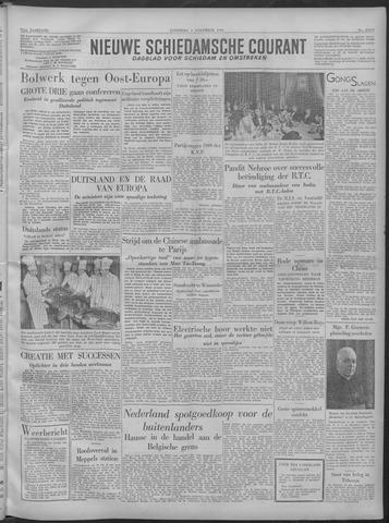 Nieuwe Schiedamsche Courant 1949-11-05
