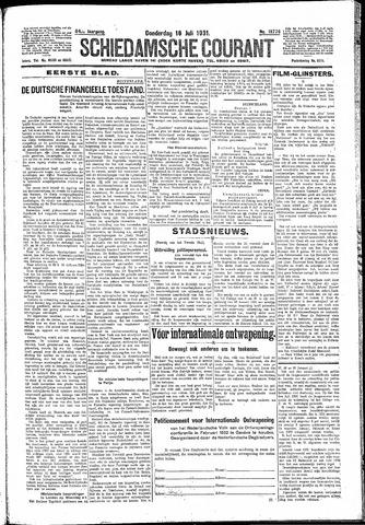 Schiedamsche Courant 1931-07-16