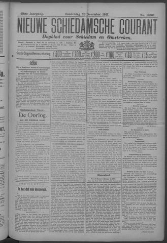 Nieuwe Schiedamsche Courant 1917-11-29