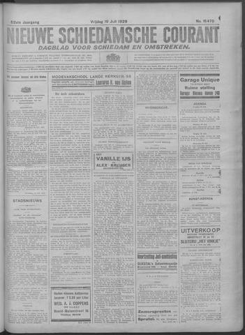 Nieuwe Schiedamsche Courant 1929-07-19