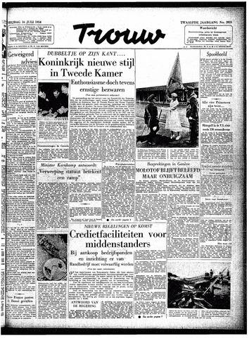 Trouw / De Rotterdammer 1954-07-16