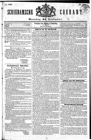 Schiedamsche Courant 1862-12-29
