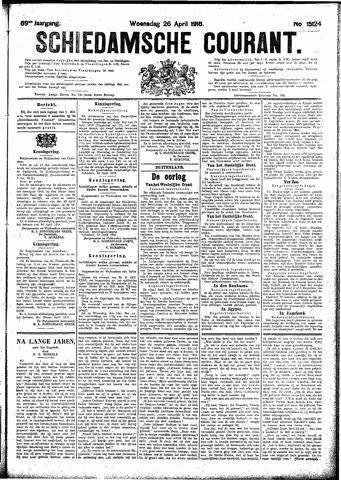 Schiedamsche Courant 1916-04-26