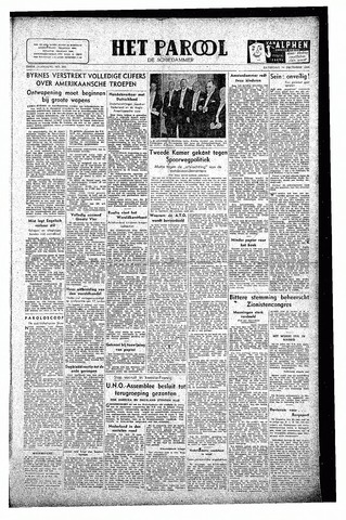Rotterdamsch Parool / De Schiedammer 1946-12-14