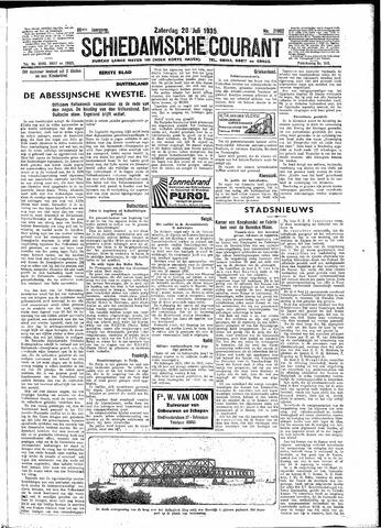 Schiedamsche Courant 1935-07-20