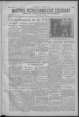 Nieuwe Schiedamsche Courant 1946-10-10