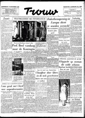 Trouw / De Rotterdammer 1958-12-18