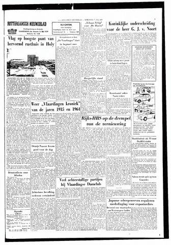 Rotterdamsch Nieuwsblad / Schiedamsche Courant / Rotterdams Dagblad / Waterweg / Algemeen Dagblad 1965-07-07