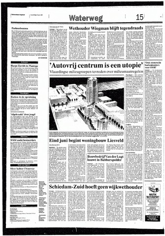 Rotterdamsch Nieuwsblad / Schiedamsche Courant / Rotterdams Dagblad / Waterweg / Algemeen Dagblad 1993-06-17