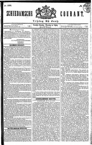 Schiedamsche Courant 1866-06-29