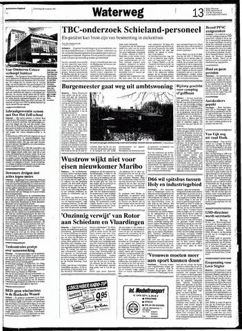 Rotterdamsch Nieuwsblad / Schiedamsche Courant / Rotterdams Dagblad / Waterweg / Algemeen Dagblad 1991-11-28