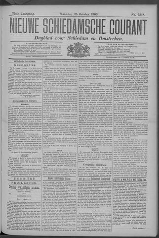 Nieuwe Schiedamsche Courant 1909-10-25