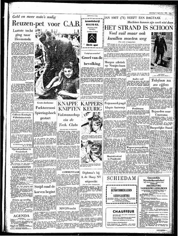 Rotterdamsch Parool / De Schiedammer 1964-09-05