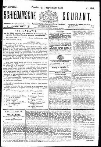 Schiedamsche Courant 1898-09-01