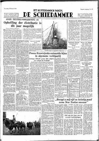 Rotterdamsch Parool / De Schiedammer 1949-02-02