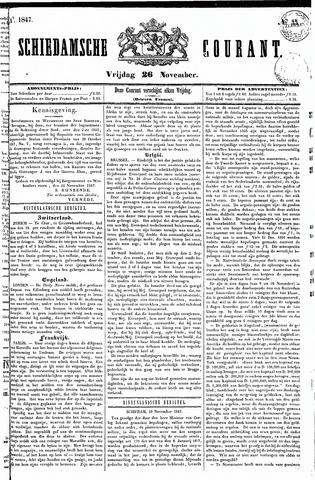Schiedamsche Courant 1847-11-26