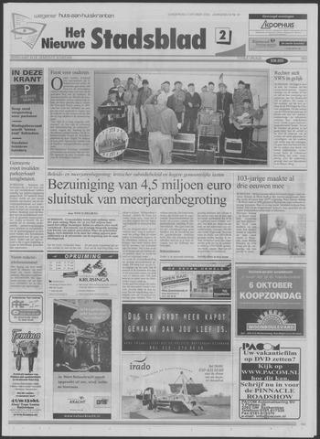 Het Nieuwe Stadsblad 2002-10-03
